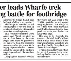 Bridge Campaign in Full Flow